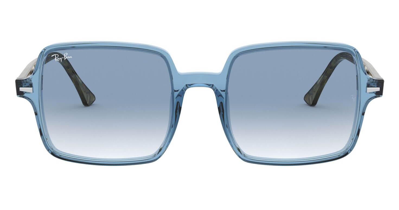 Front Ray-Ban Ray-Ban 0RB1973 12833F 53/20 Blauw, Transparant/Blauw