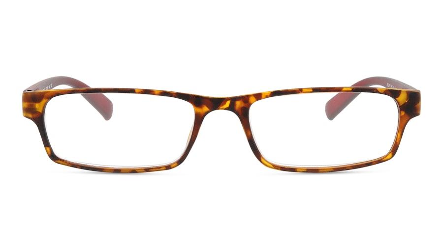 Óculos de leitura Graduação: +2.50 Tartaruga e Vermelho