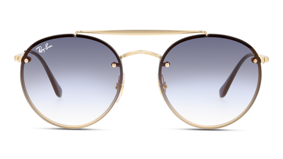 Front Ray-Ban Ray-Ban 0RB3614N 91400S 54/18 Goud/Blauw