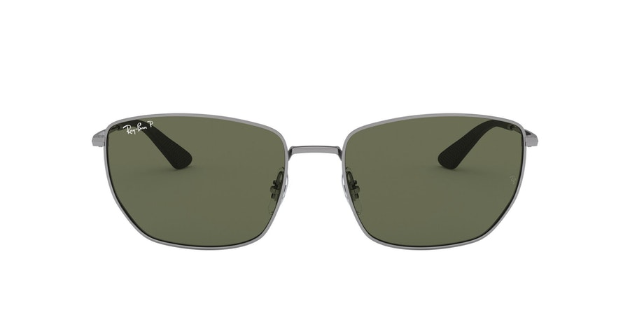 Ray-Ban 0RB3653 004/9A Groen / Zilver
