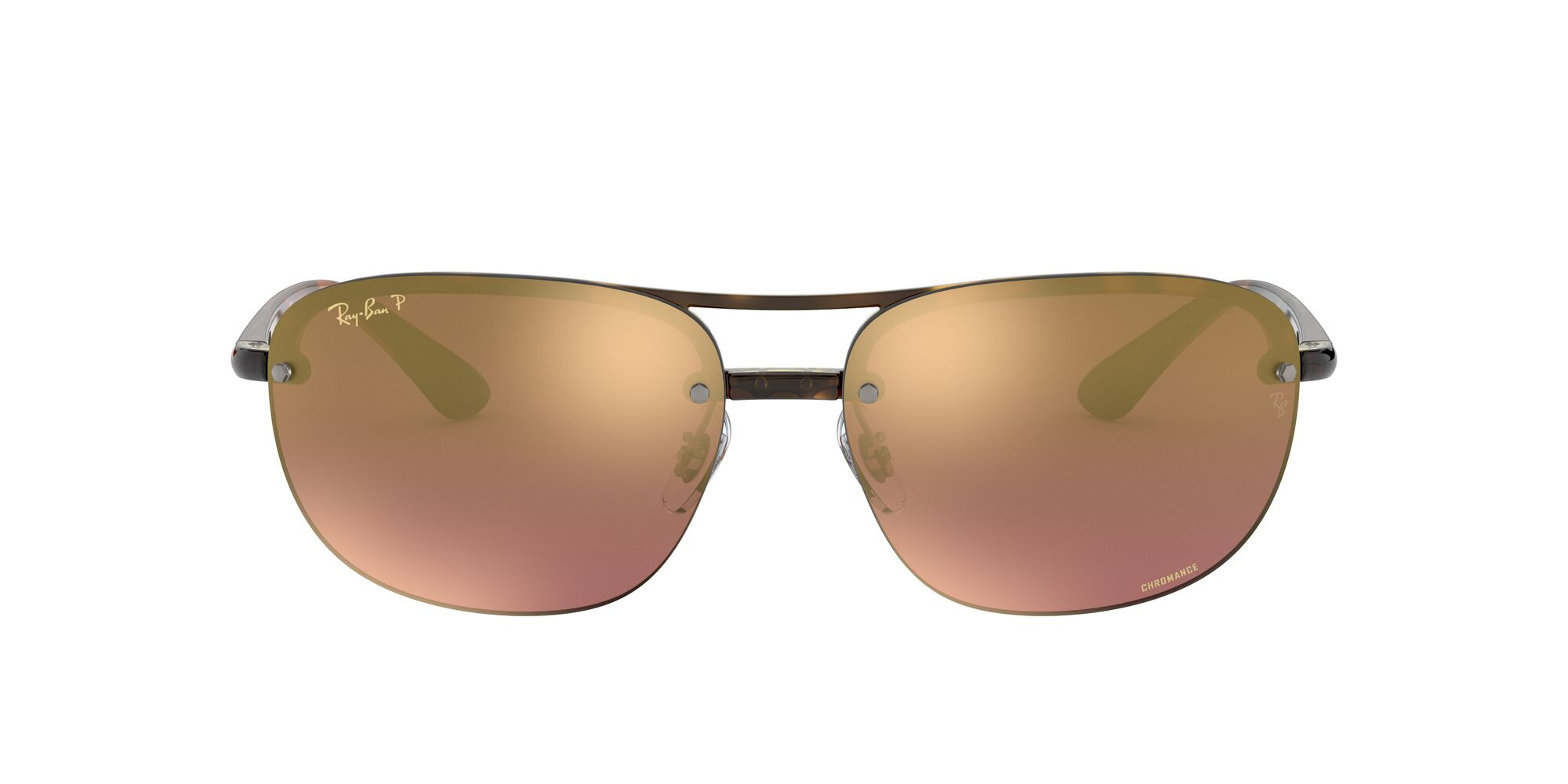 Front Ray-Ban Ray-Ban 0RB4275CH 710/6B 63/15 Bruin/Paars