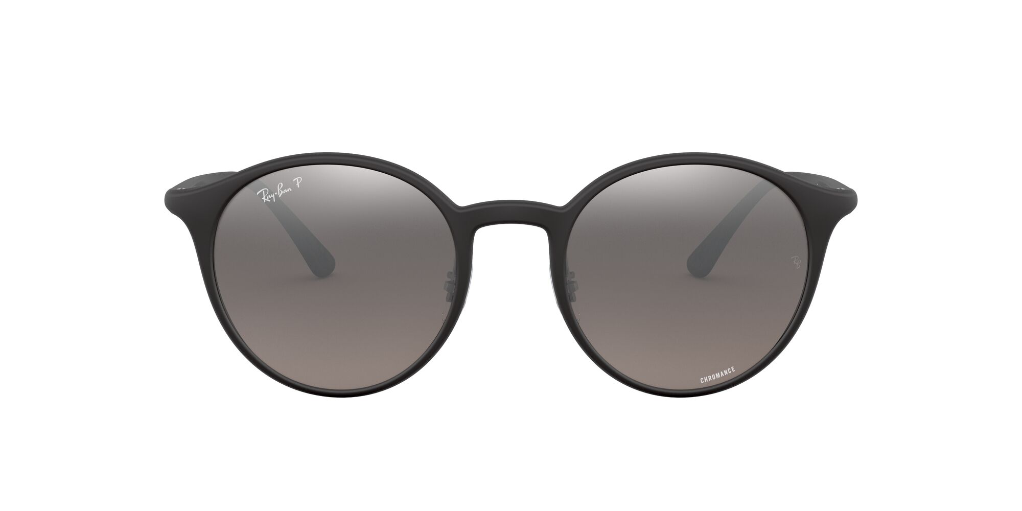 Front Ray-Ban Ray-Ban 0RB4336CH 601S5J 50/20 Zwart/Zilver