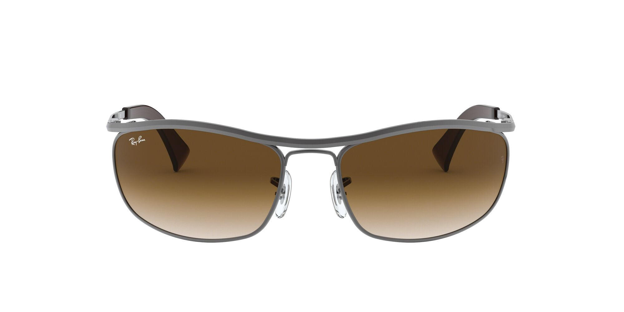 Front Ray-Ban Ray-Ban RB3119 916451 62/19 Zilver/Bruin