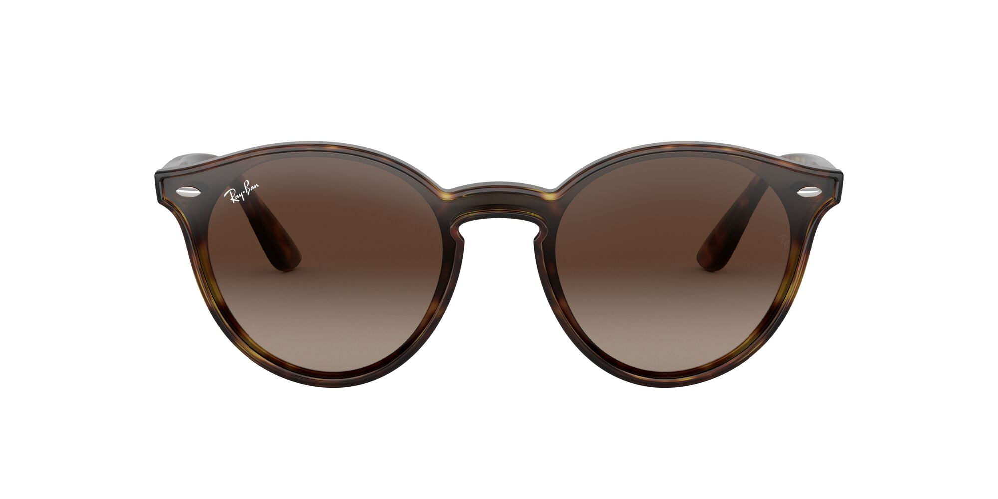 Front Ray-Ban Ray-Ban RB4380N 710/13 37/37 Bruin/Bruin