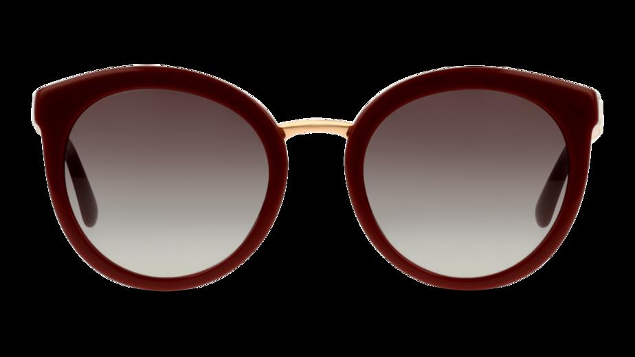 Front Dolce & Gabbana Dolce & Gabbana 4268 30918G 52/22 Rood/Grijs