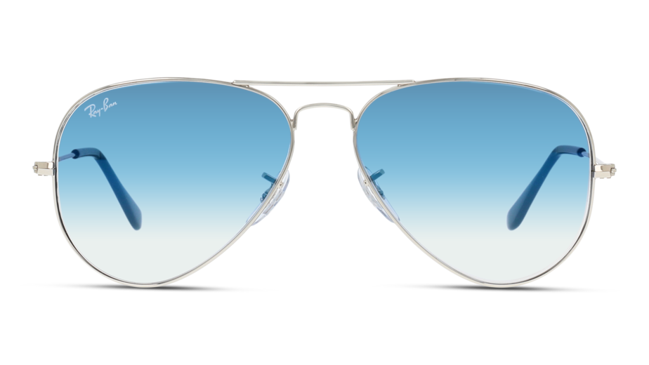 Front Ray-Ban Ray-Ban 3025 003/3F 58/14 Zilver/Blauw