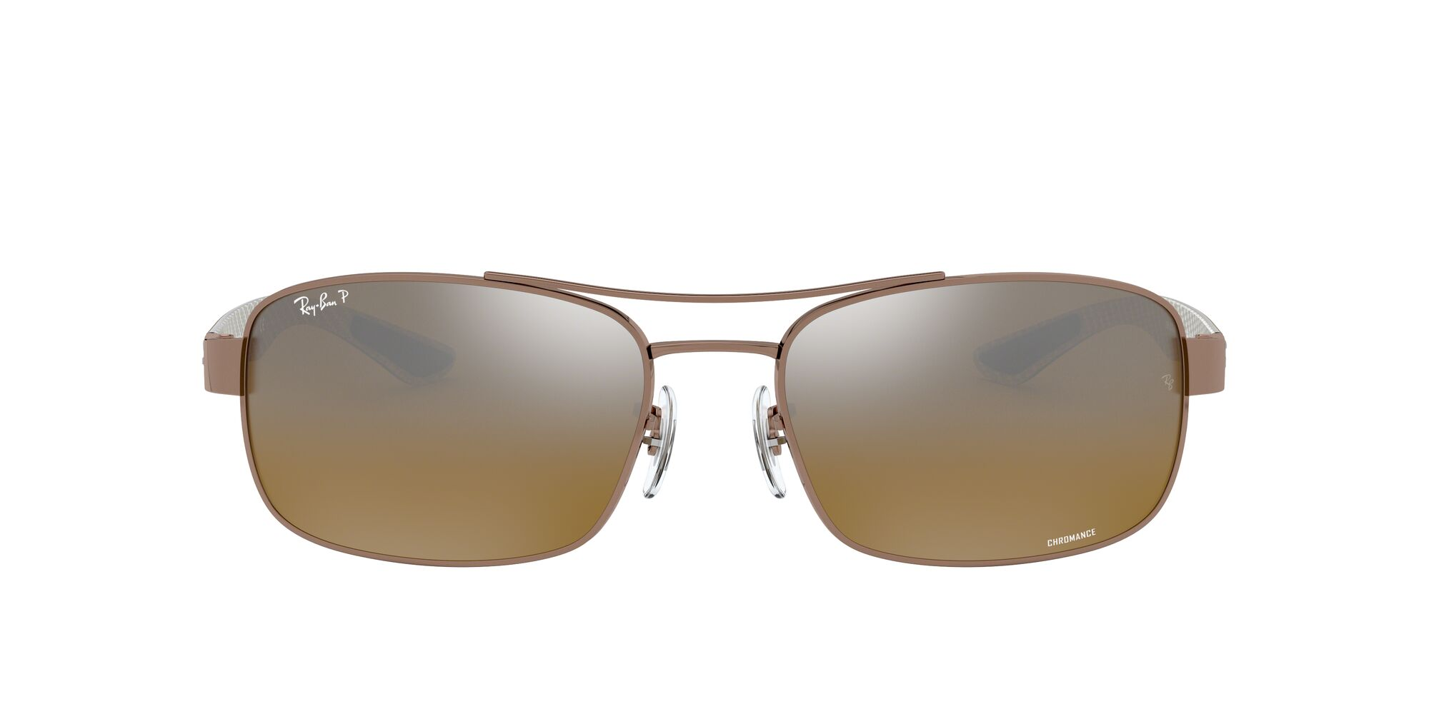 Front Ray-Ban Ray-Ban 0RB8318CH 121/A2 62/18 Bruin/Bruin