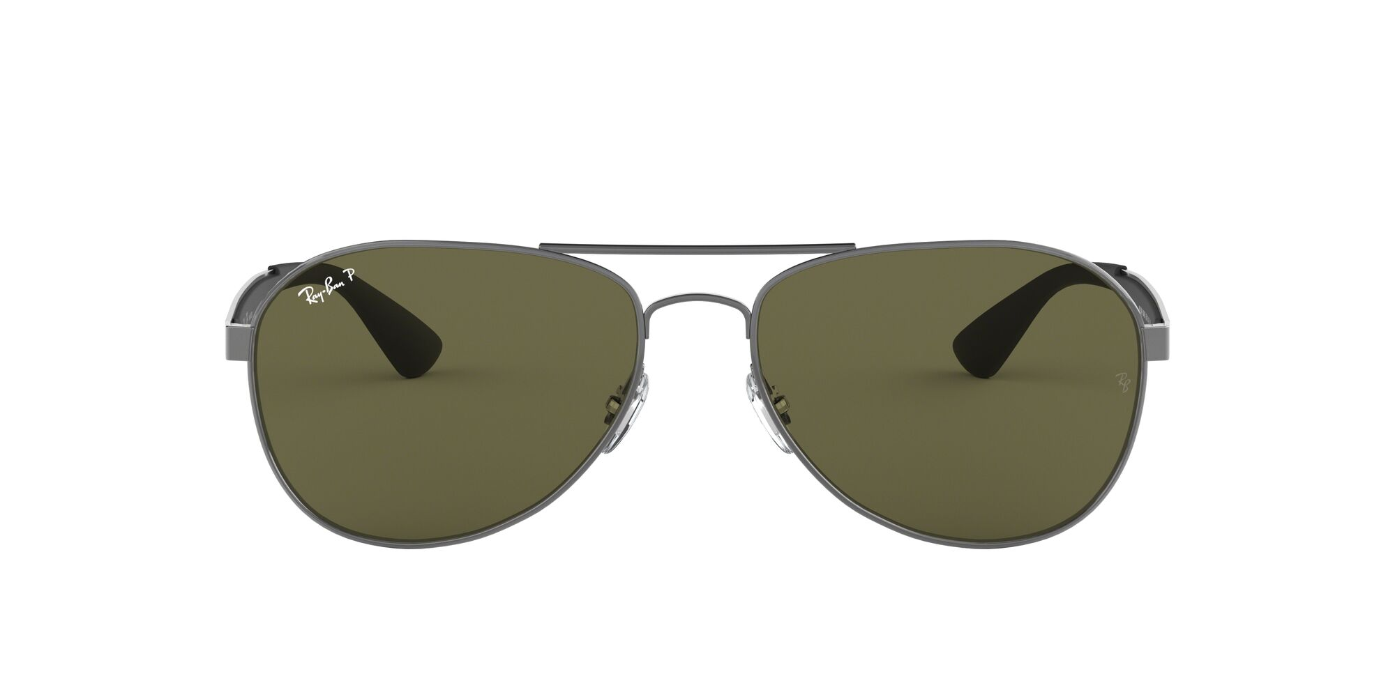 Front Ray-Ban Ray-Ban 0RB3549 004/9A 58/16 Grijs/Groen
