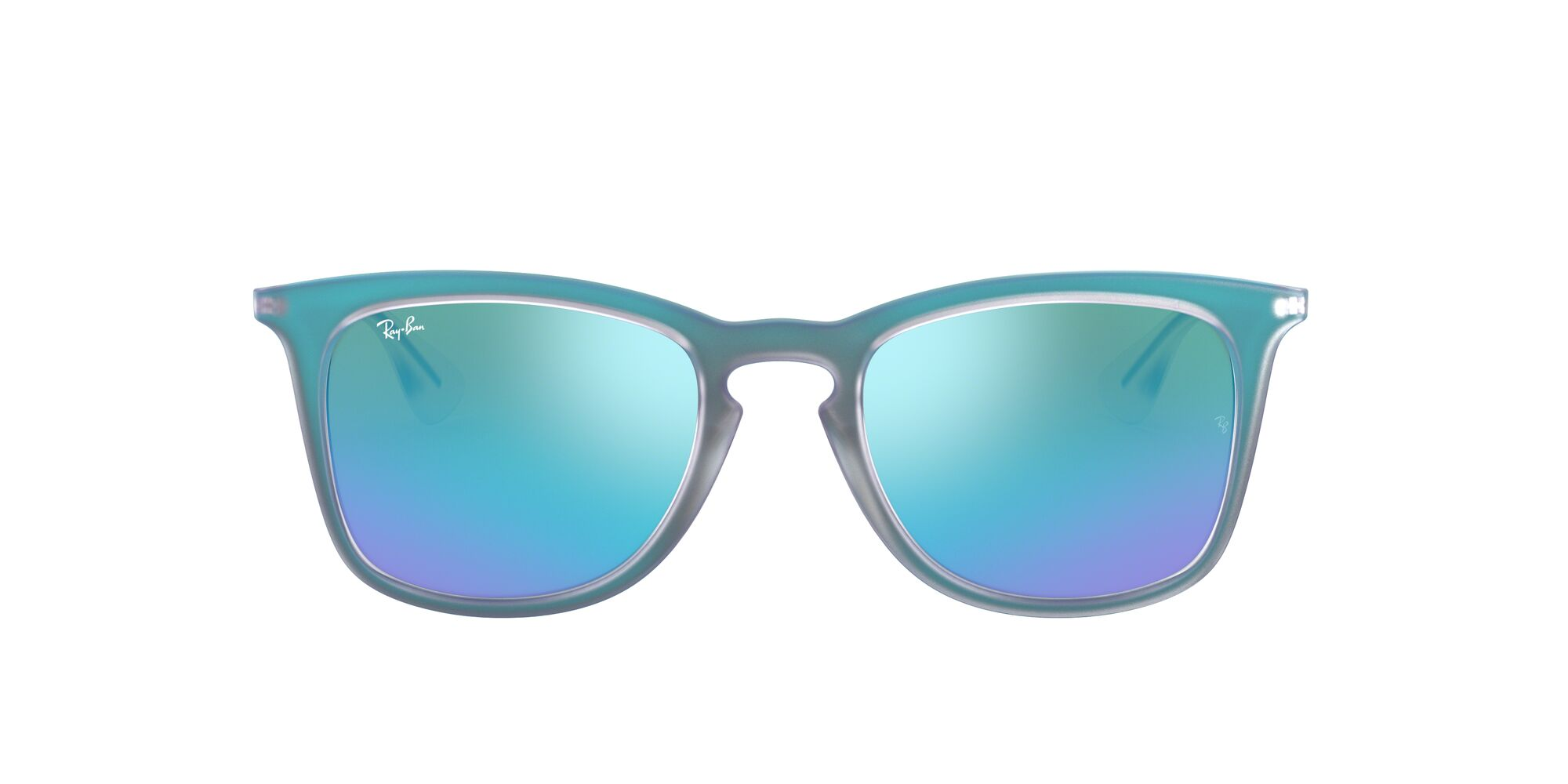 Front Ray-Ban Ray-Ban RB4221 617055 50/19 Blauw/Groen