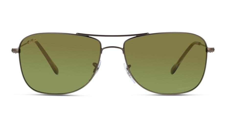 Front Ray-Ban Ray-Ban 0RB3543 029/6O 59/16 Grijs/Groen