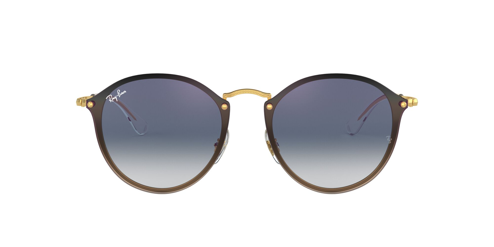 Front Ray-Ban Ray-Ban 0RB3574N 001/X0 59/14 Goud/Blauw