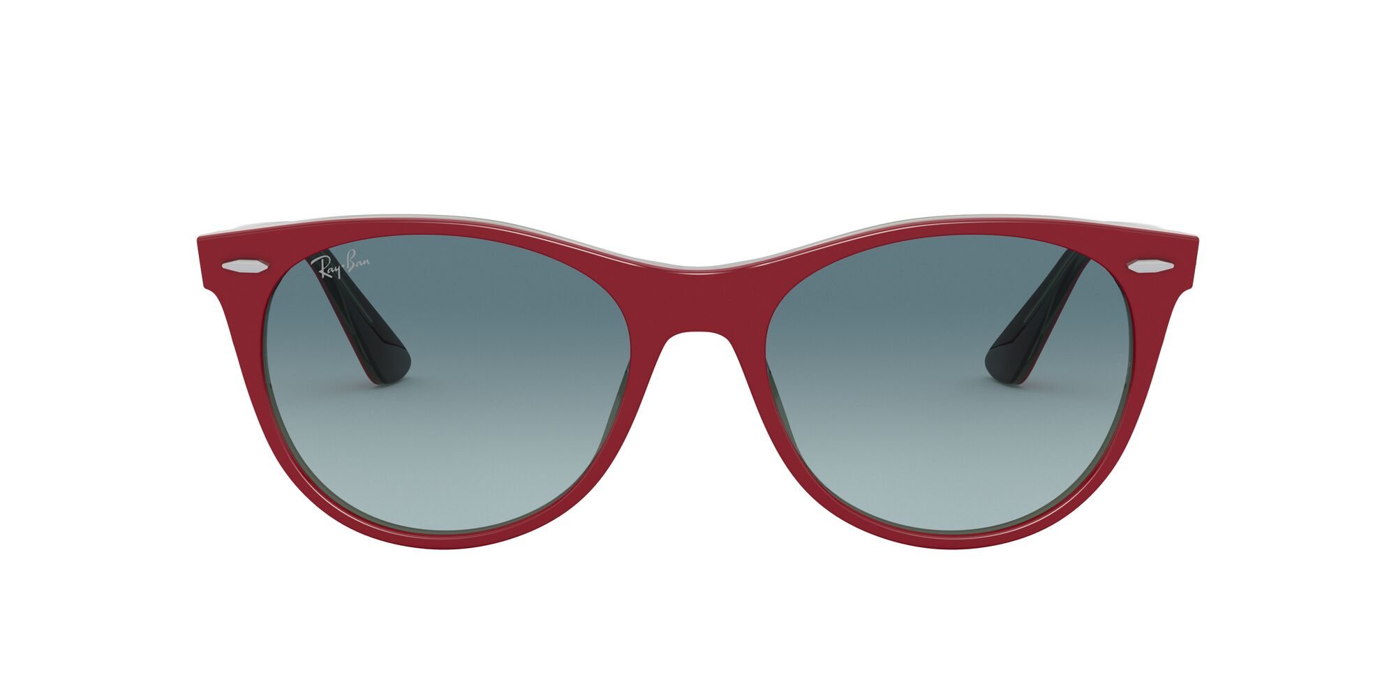 Front Ray-Ban Ray-Ban 0RB2185 12963M 55/18 Rood/Blauw