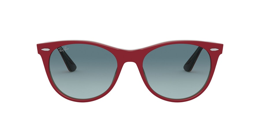 Ray-Ban 0RB2185 12963M Blauw / Rood