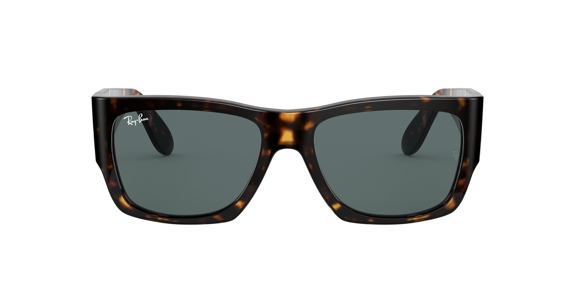 Front Ray-Ban Ray-Ban 0RB2187 902/R5 54/17 Bruin/Blauw