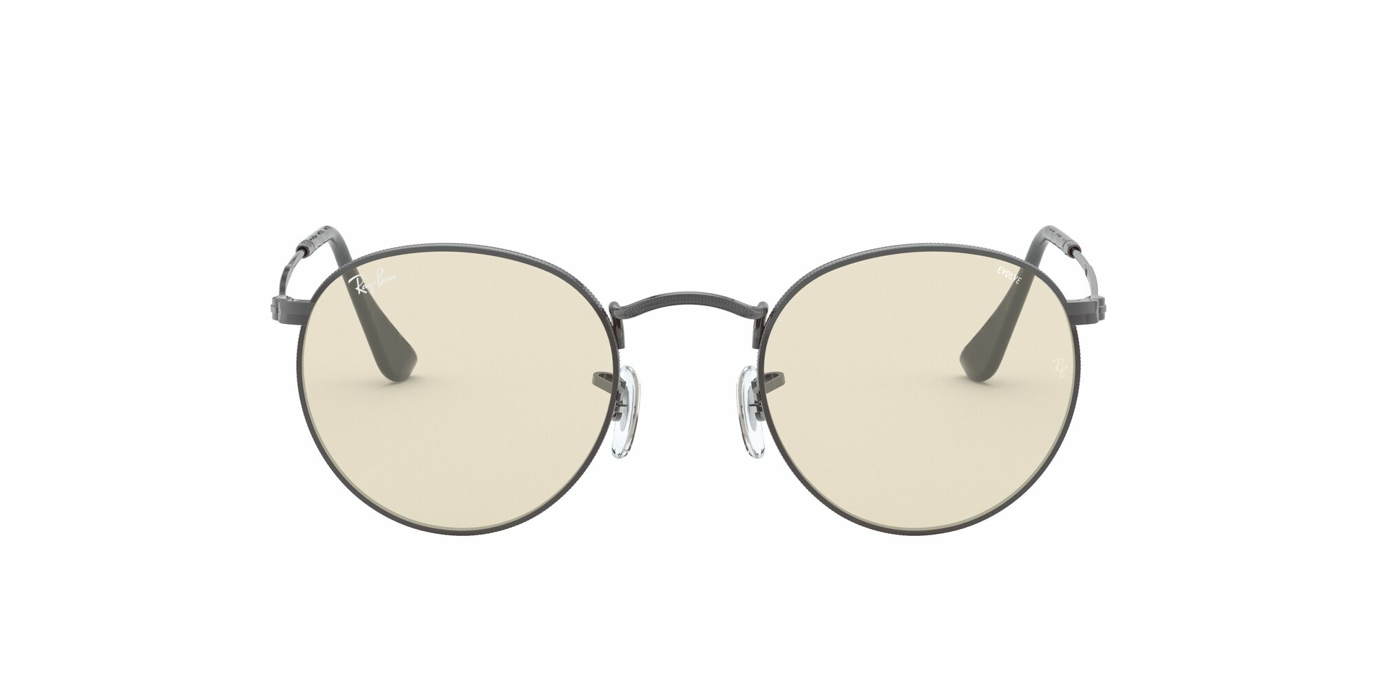 Front Ray-Ban Ray-Ban 0RB3447 004/T2 53/21 Grijs/Geel
