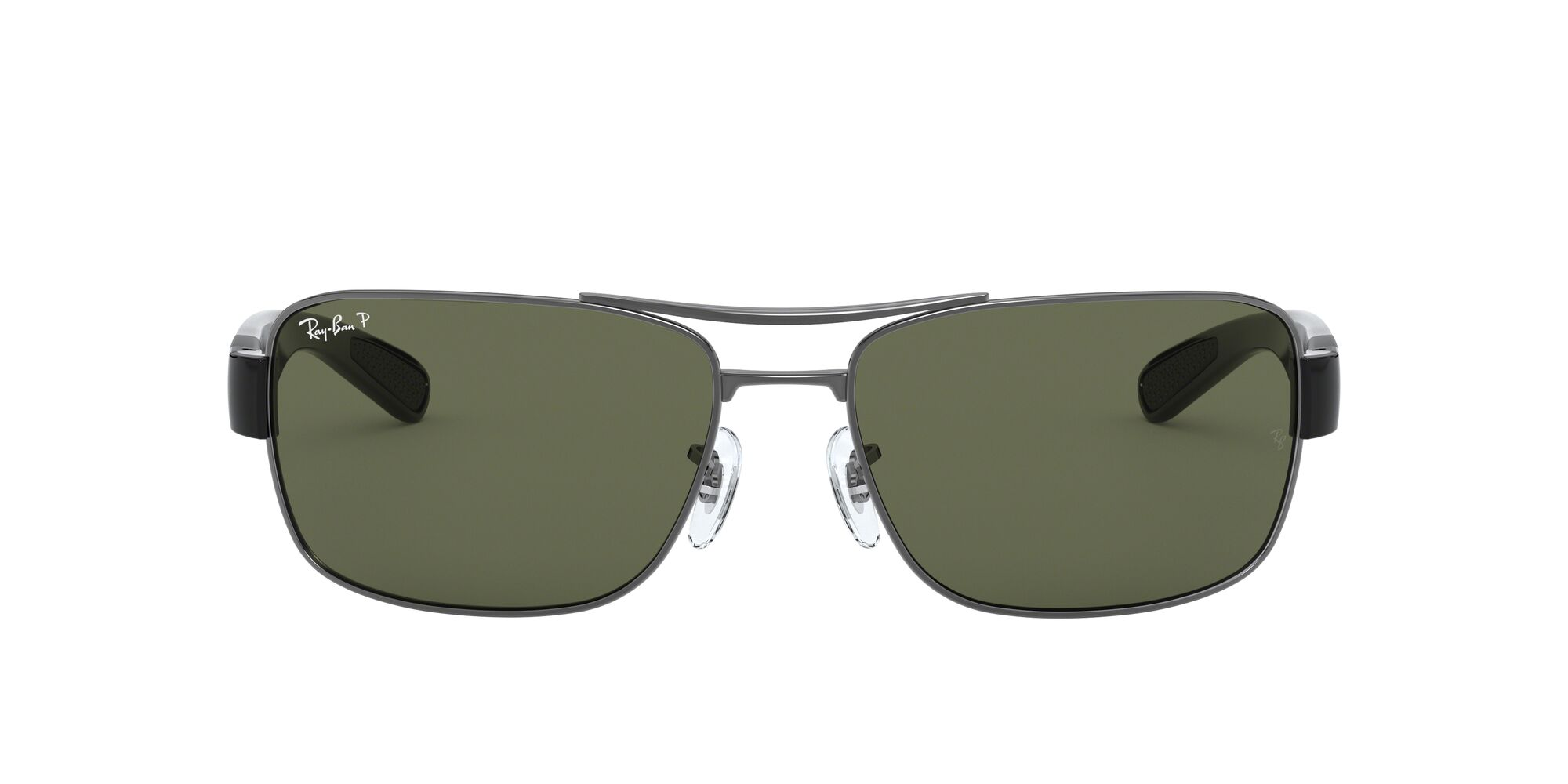 Front Ray-Ban Ray-Ban RB3522 004/9A 61/17 Grijs/Groen