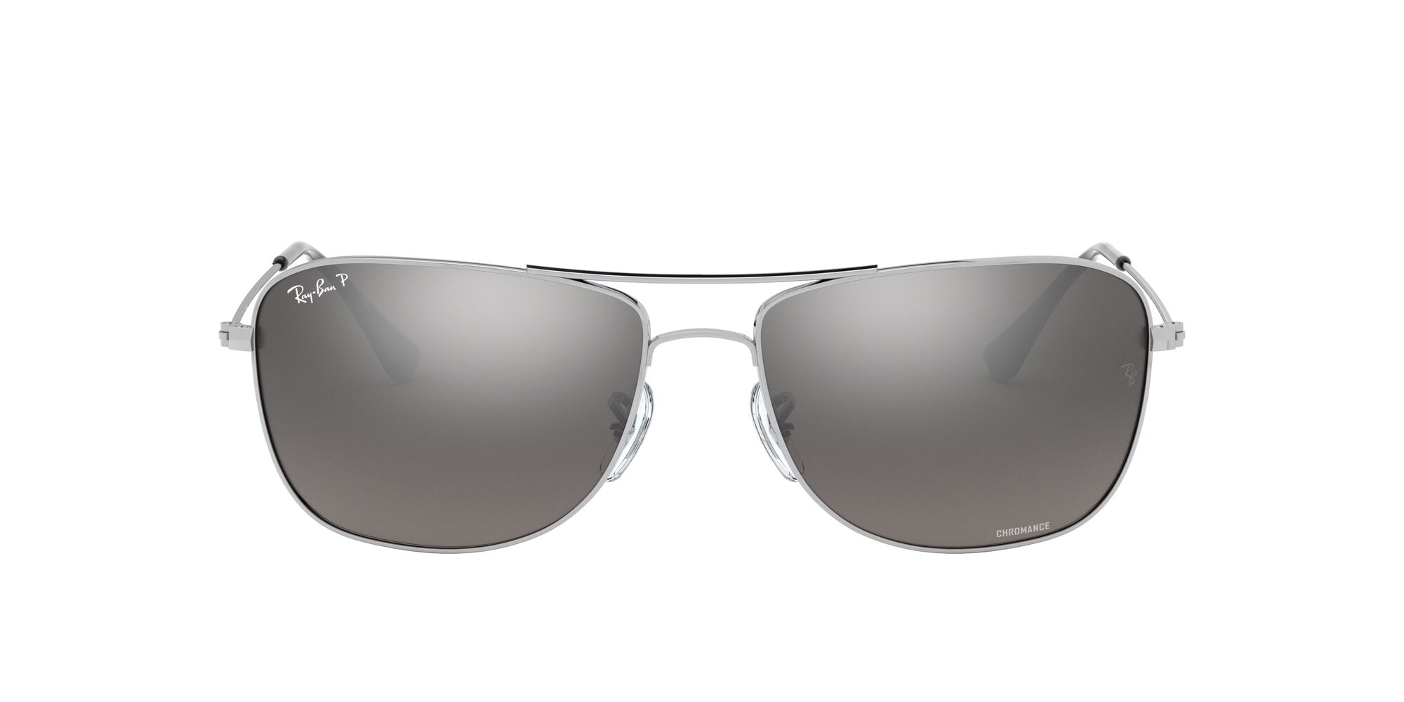 Front Ray-Ban Ray-Ban 0RB3543 003/5J 59/16 Zilver/Grijs