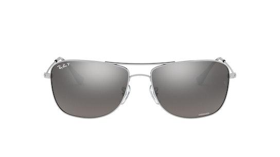 0RB3543 003/5J Grijs / Zilver