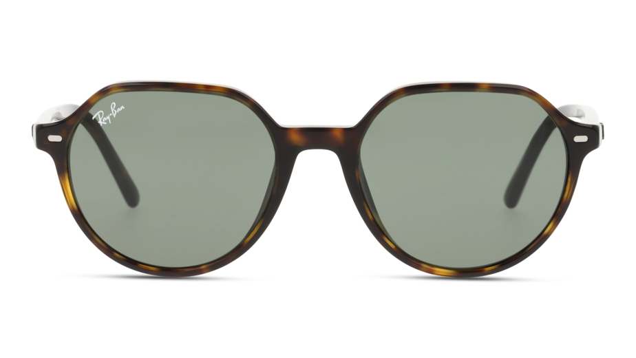Front Ray-Ban Ray-Ban 0RB2195 902/31 53/18 Bruin/Groen