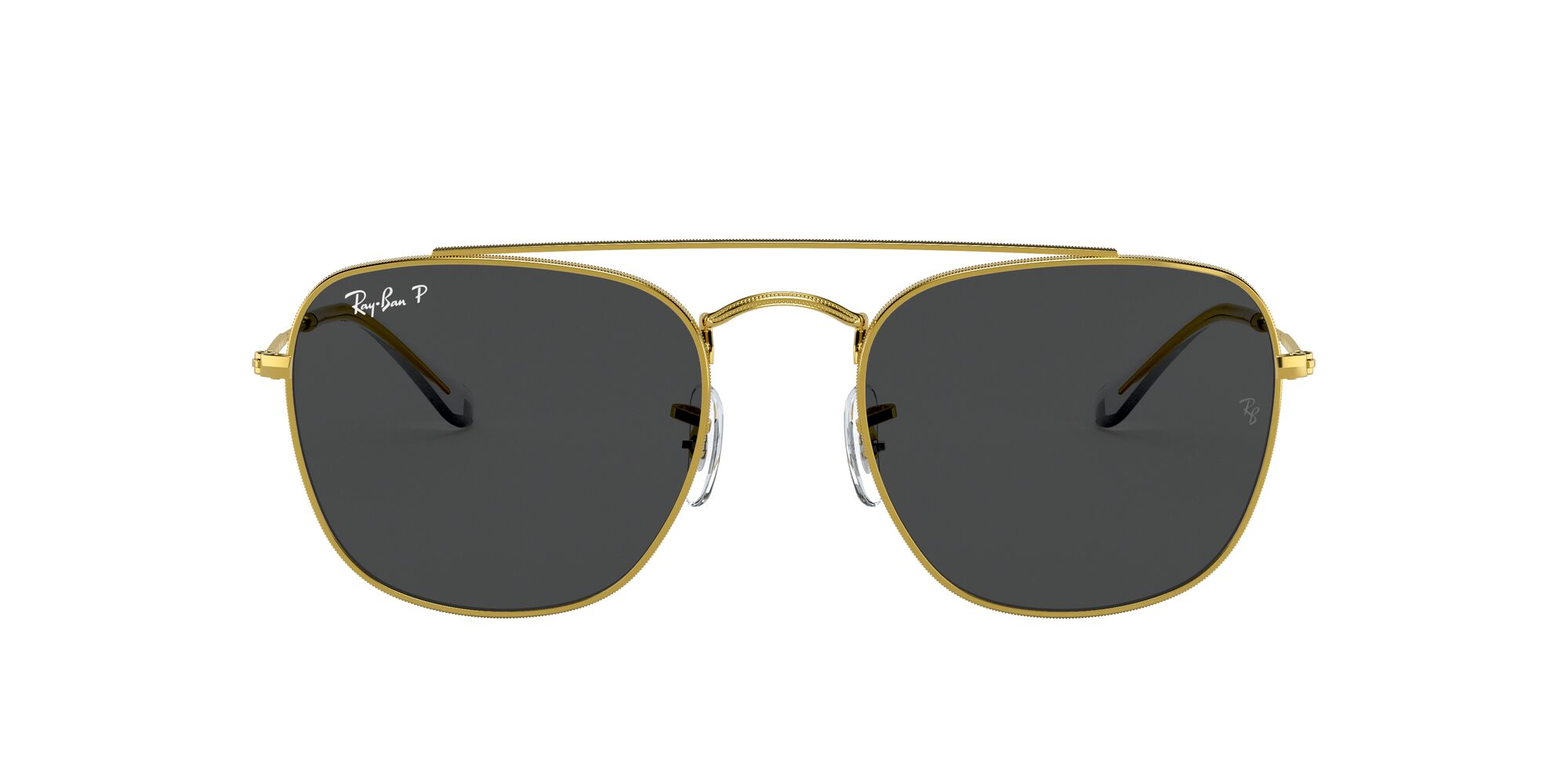 Front Ray-Ban Ray-Ban 0RB3557 919648 51/20 Goud/Grijs