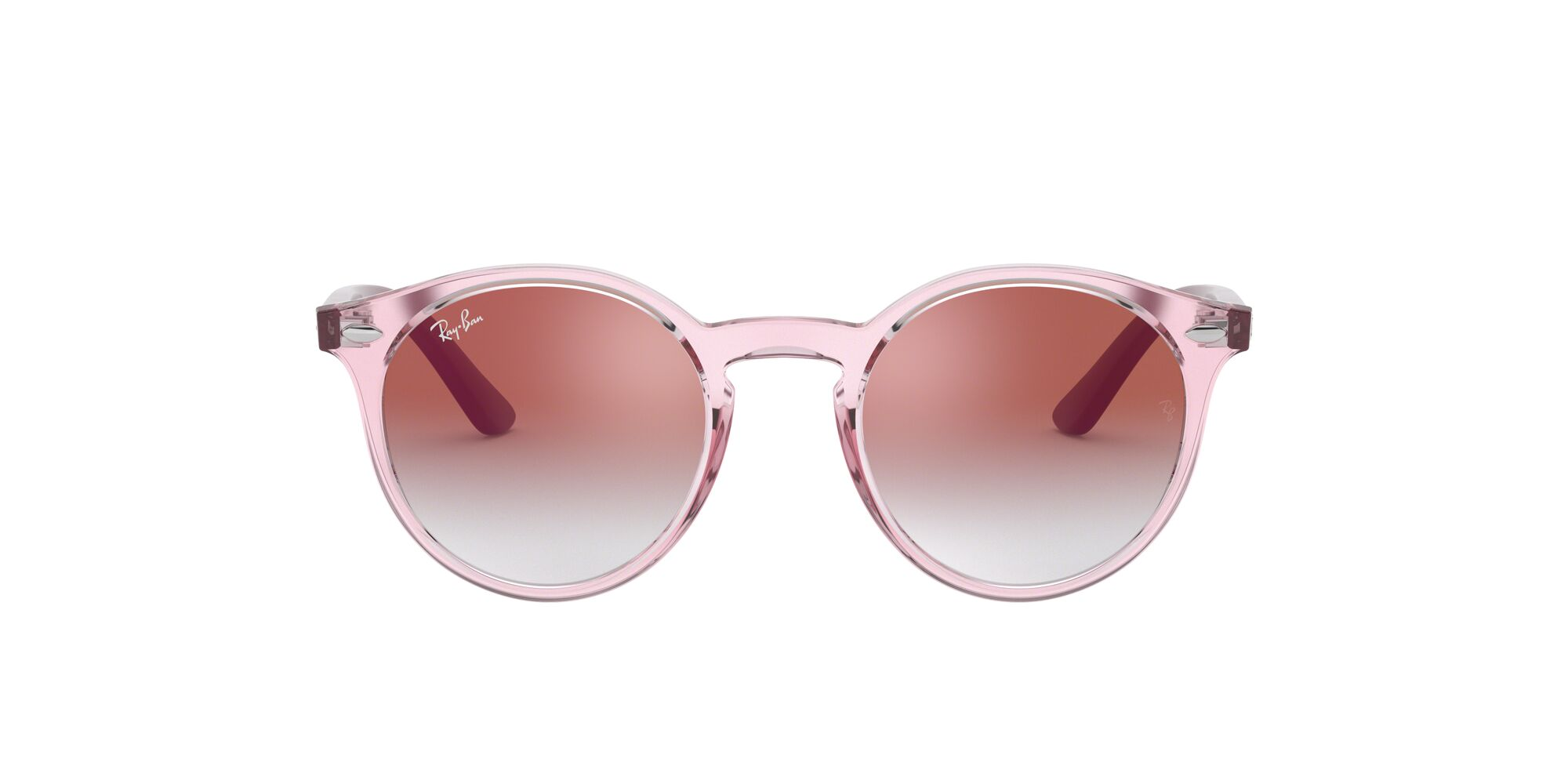 Front Ray-Ban Ray-Ban RJ9064S 7052V0 44/19 Roze/Roze