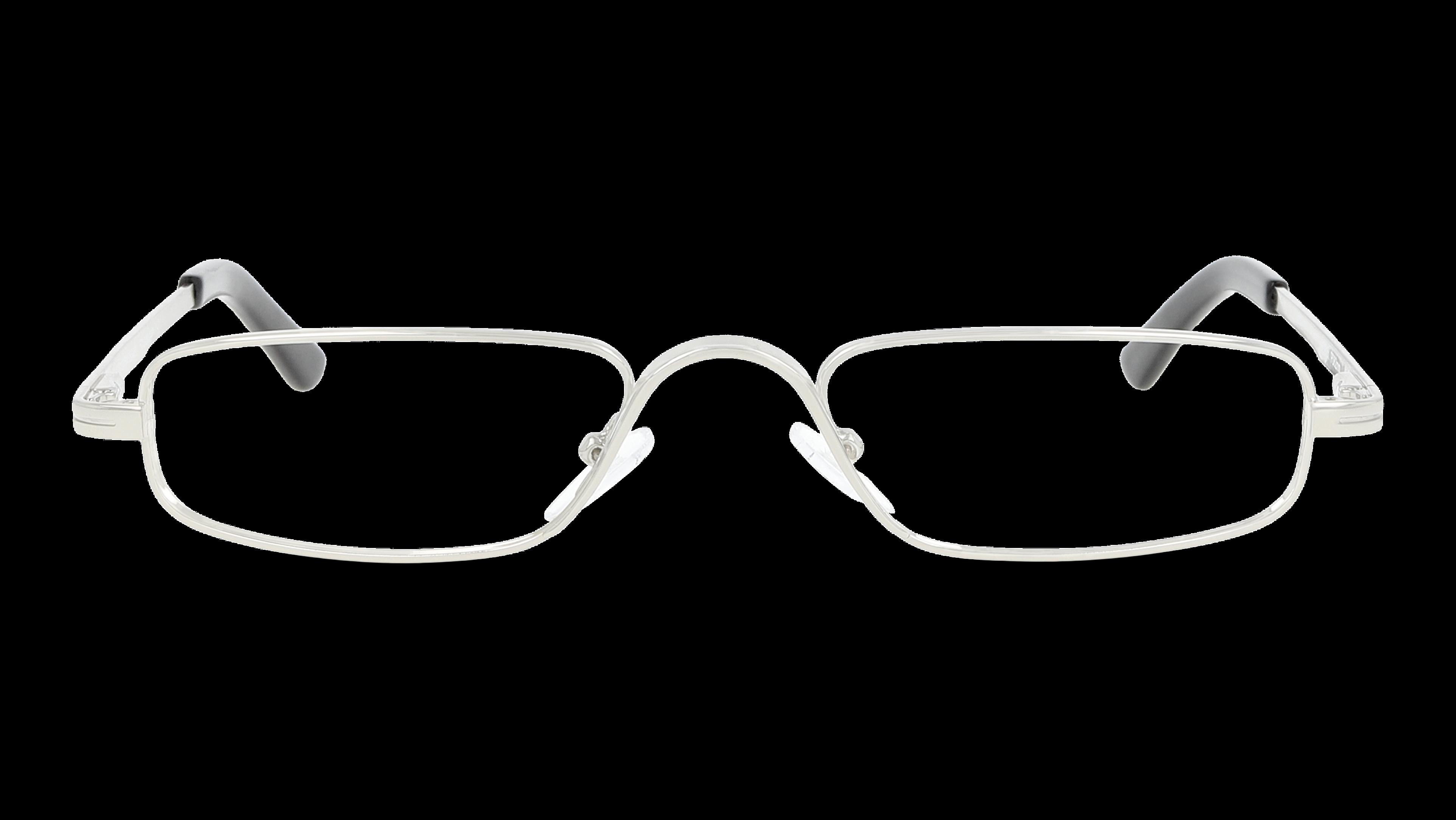 Front Óculos de leitura RRLF03 Prateado
