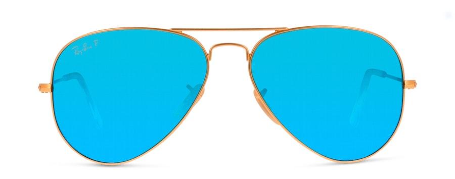 Ray-Ban AVIATOR 112/4L Blauw / Goud