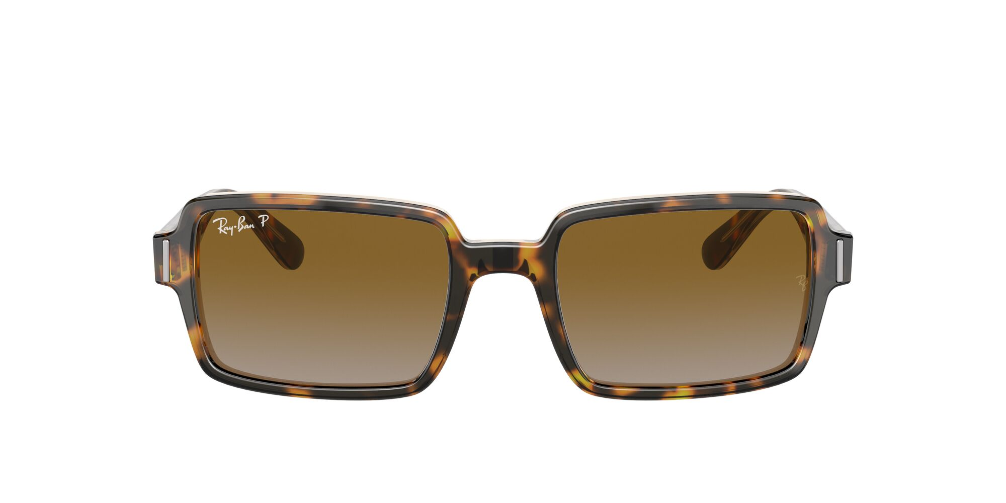 Front Ray-Ban Ray-Ban 0RB2189 1292W1 53/20 Bruin/Grijs