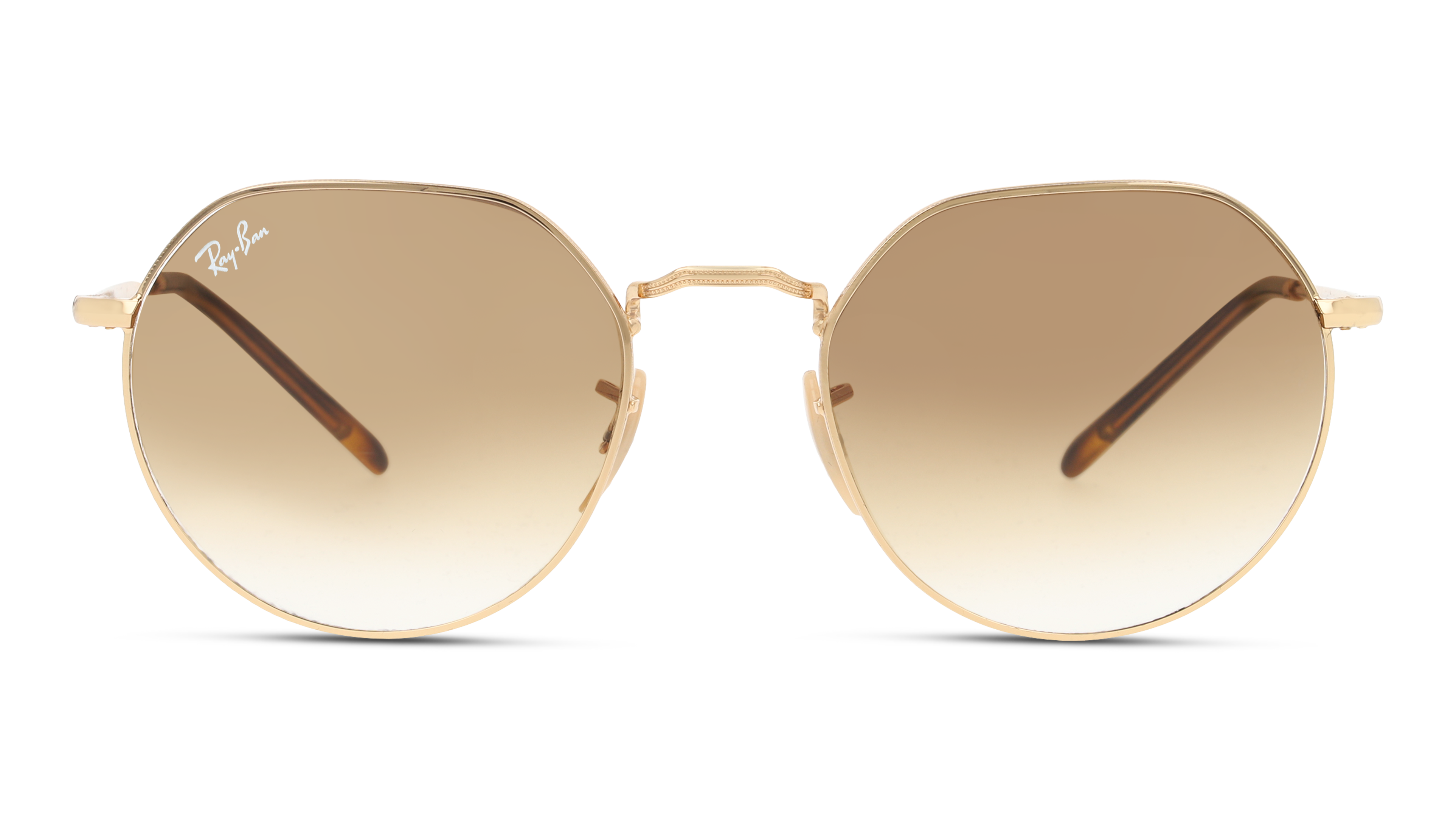 Front Ray-Ban Ray-Ban 0RB3565 001/51 53/20 Goud/Bruin
