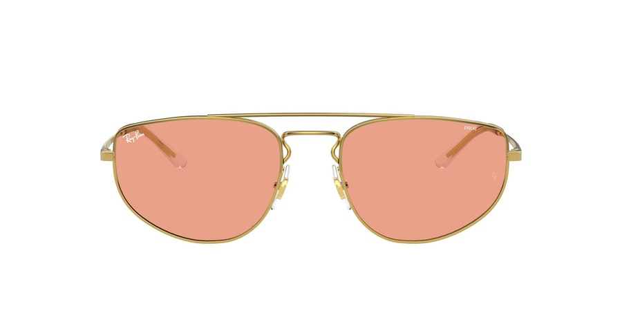 Ray-Ban 0RB3668 001/Q6 Rood / Goud