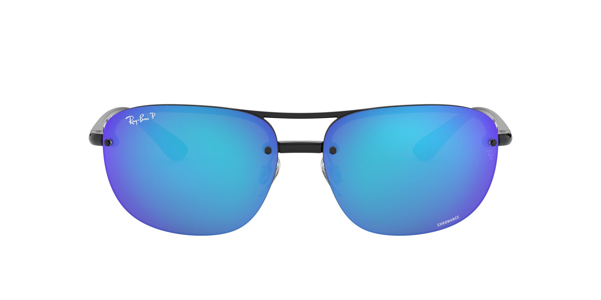 Front Ray-Ban Ray-Ban 0RB4275CH 601/A1 63/15 Zwart/Groen