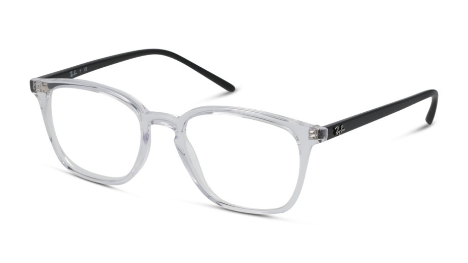 Angle_Left01 Ray-Ban 0RX7185/5943/5218/145 Transparent