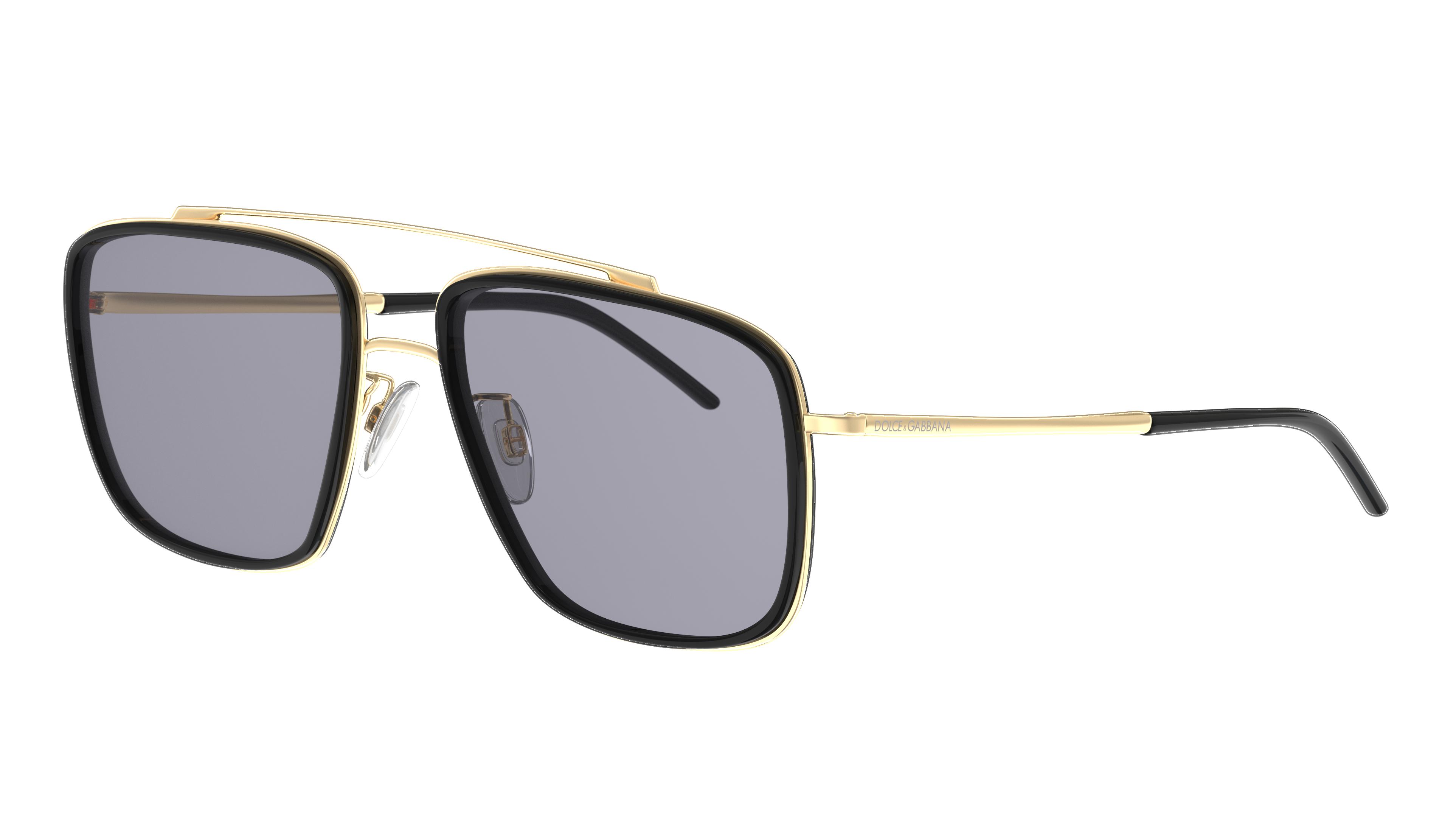 Angle_Left01 Dolce & Gabbana DolceGab 2220 02/81 57/17 Nero,Oro/Grigio