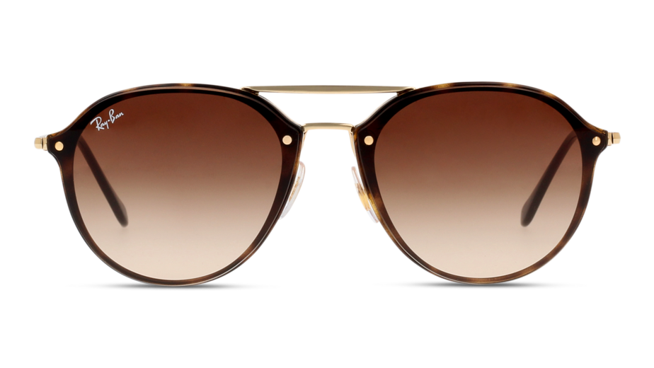Front Ray-Ban Ray-Ban 0RB4292N 710/13 61/14 Gold, Bruin/Bruin