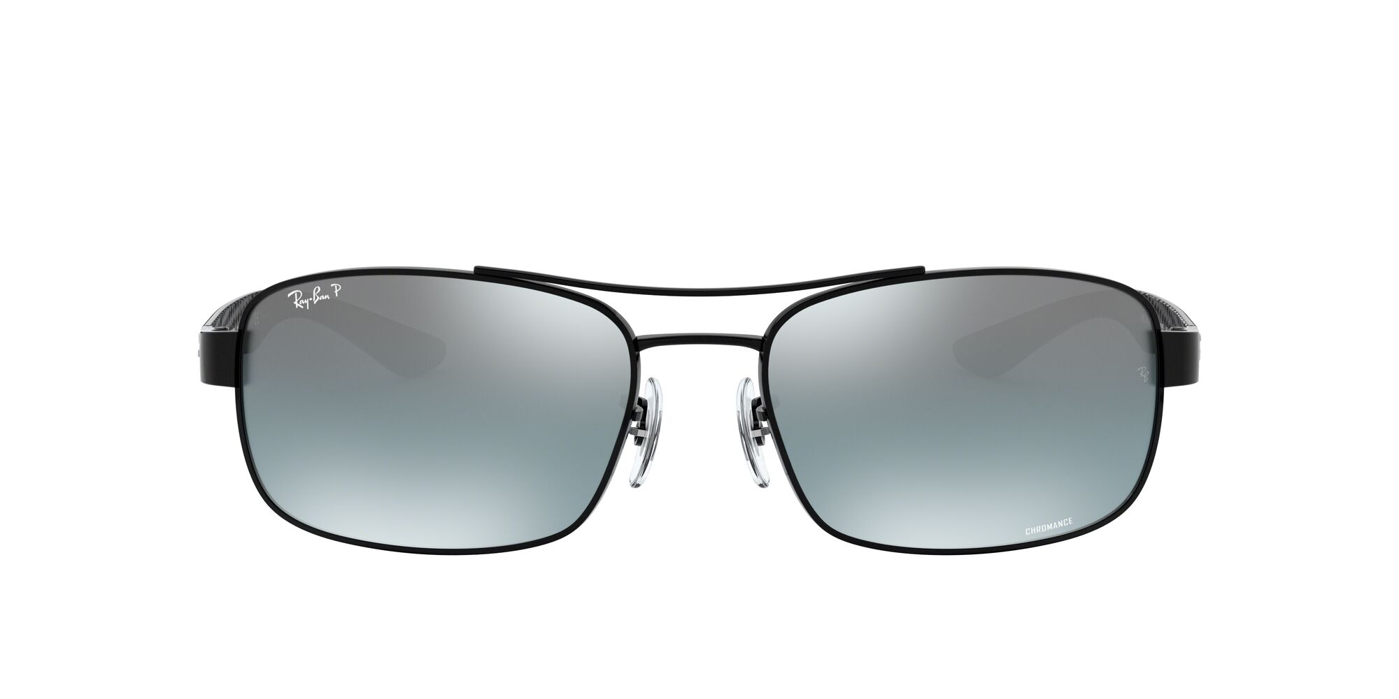 Front Ray-Ban Ray-Ban 0RB8318CH 002/5L 62/18 Zwart/Blauw