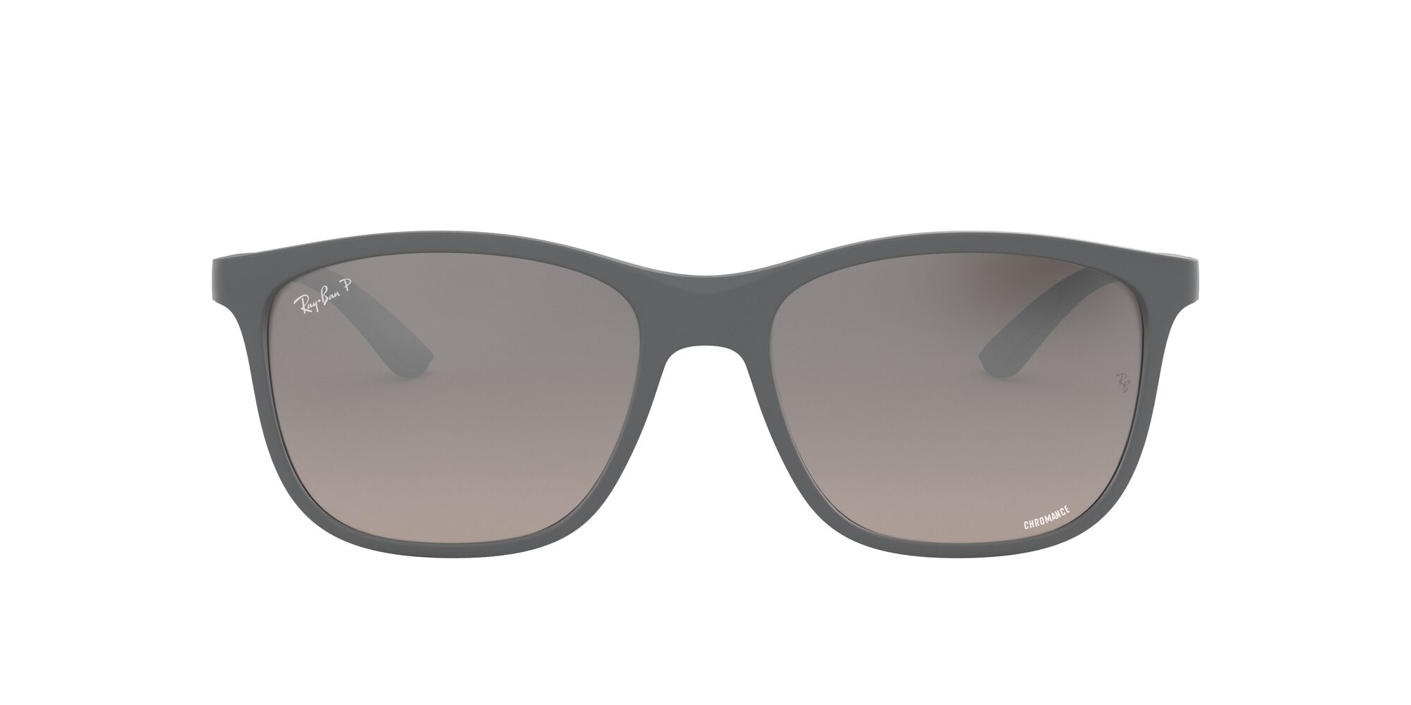 Front Ray-Ban Ray-Ban 0RB4330CH 60175J 56/17 Grijs/Zilver