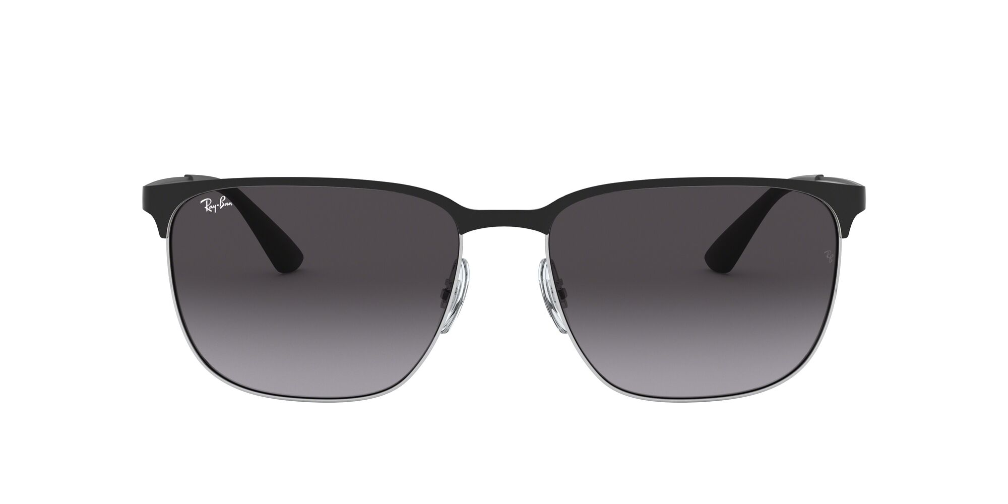Front Ray-Ban Ray-Ban 0RB3569 90048G 59/17 Zilver/Grijs
