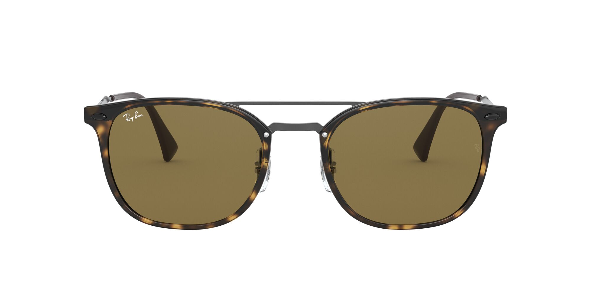 Front Ray-Ban Ray-Ban 0RB4286 710/73 55/21 Zilver, Bruin/Bruin