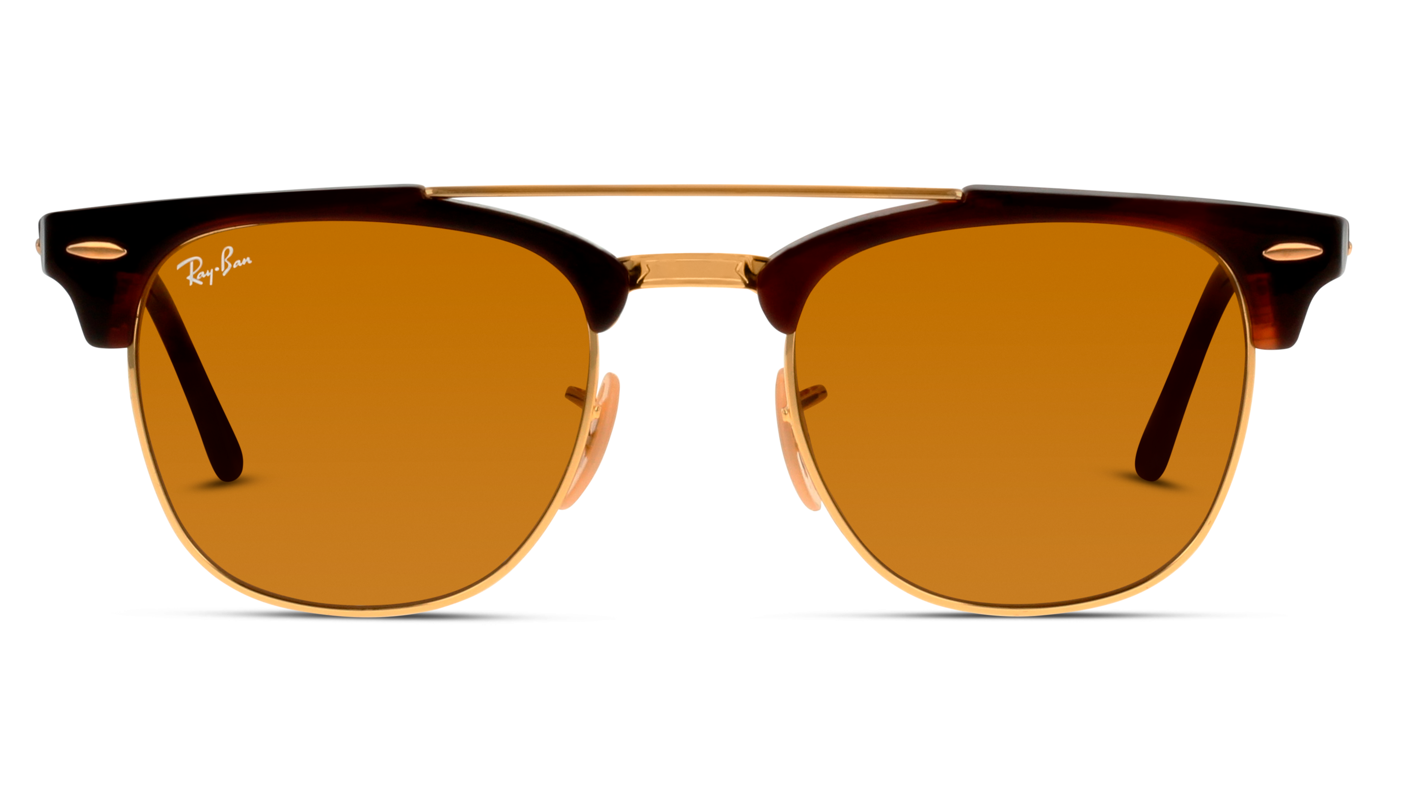 Front Ray-Ban Ray-Ban 0RB3816 990/33 51/21 Goud/Bruin