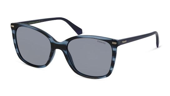 PLD 4108/S 632 Grijs / Blauw, Transparant