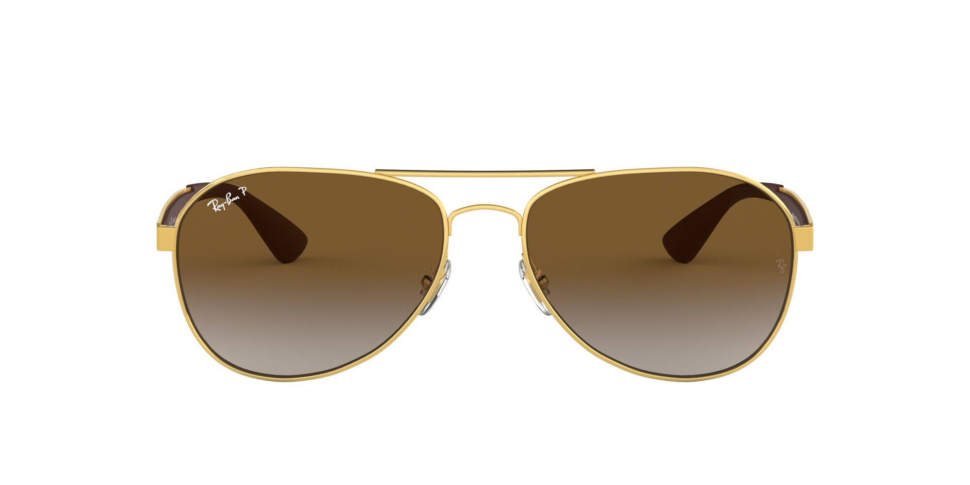 Front Ray-Ban Ray-Ban 0RB3549 001/T5 58/16 Goud/Groen