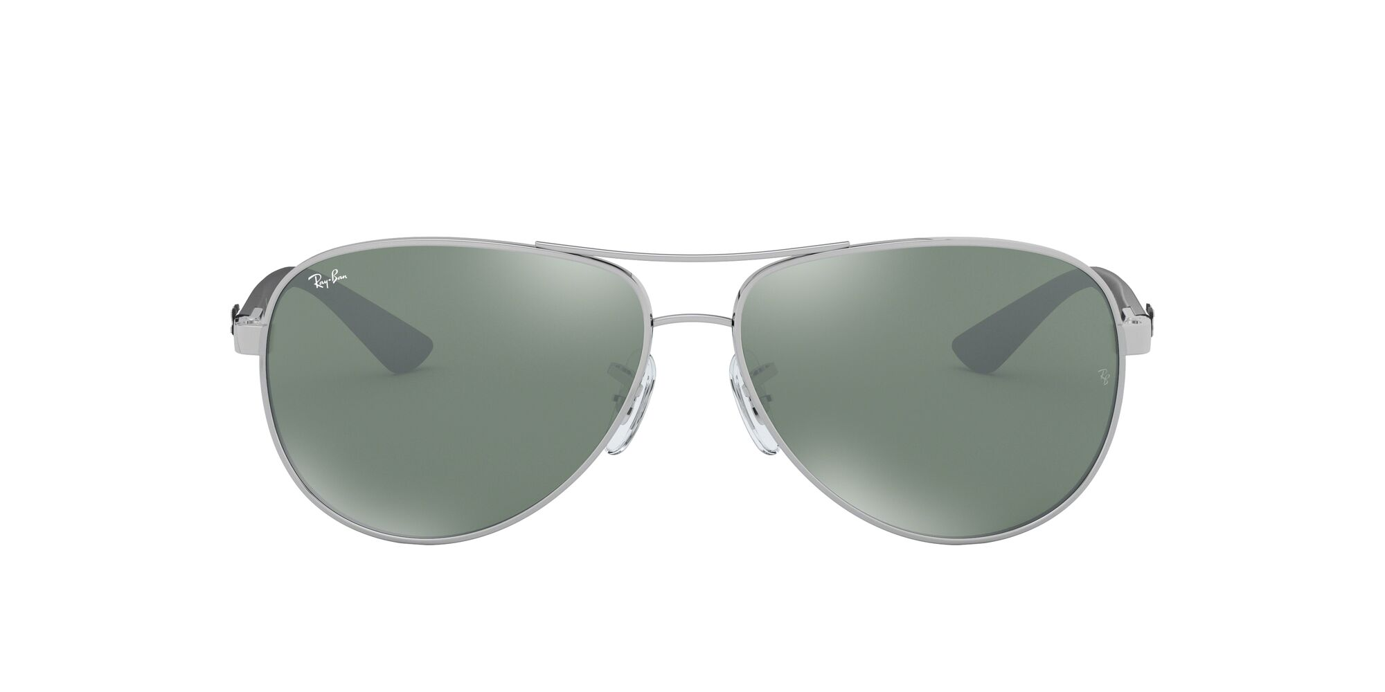 Front Ray-Ban Ray-Ban 0RB8313 003/40 58/13 Zilver/Zwart