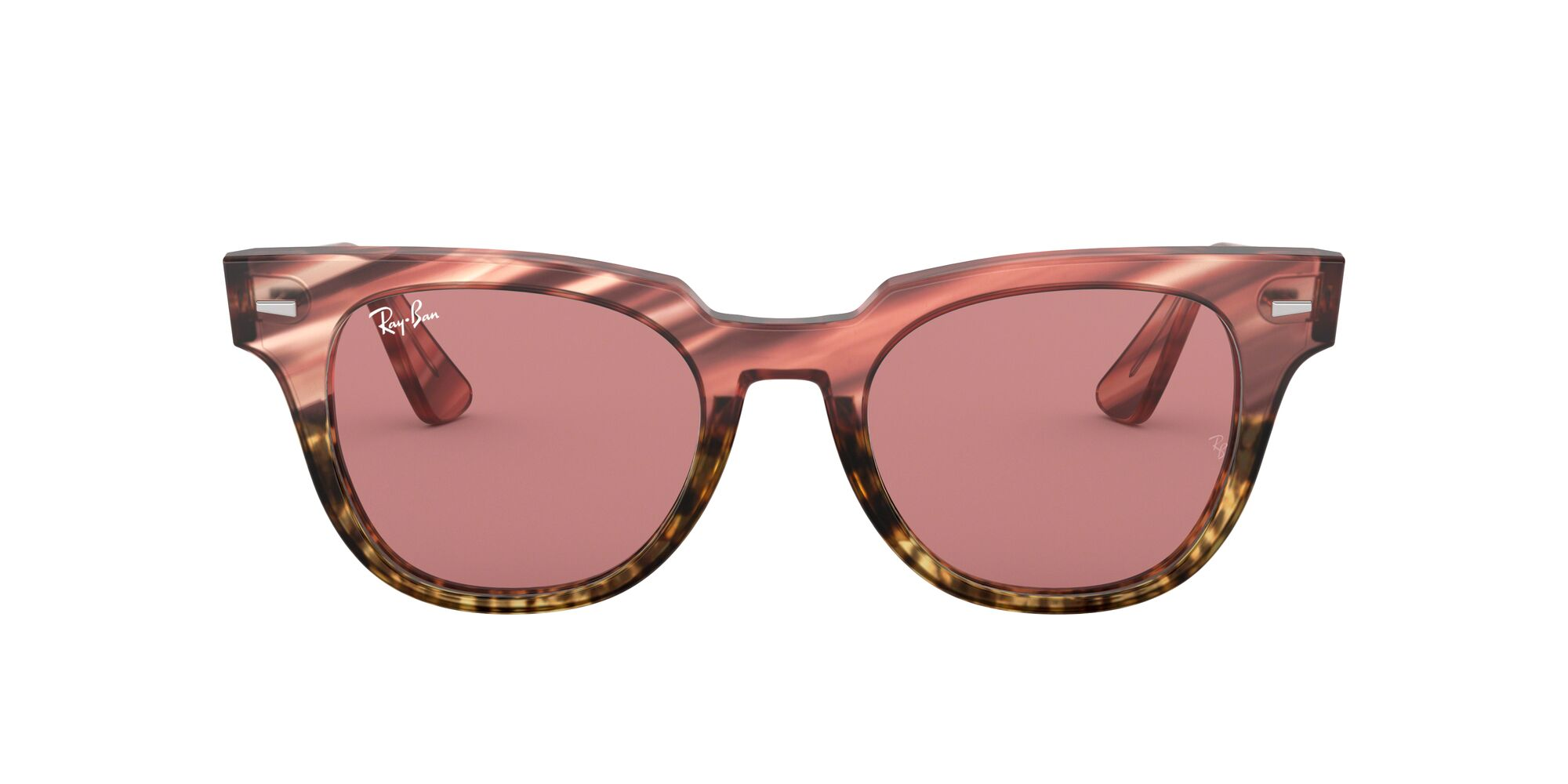 Front Ray-Ban Ray-Ban 0RB2168 1253U0 50/20 Roze/Paars