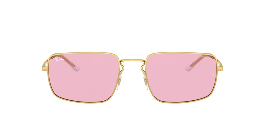 Ray-Ban 0RB3669 001/Q3 Roze / Goud
