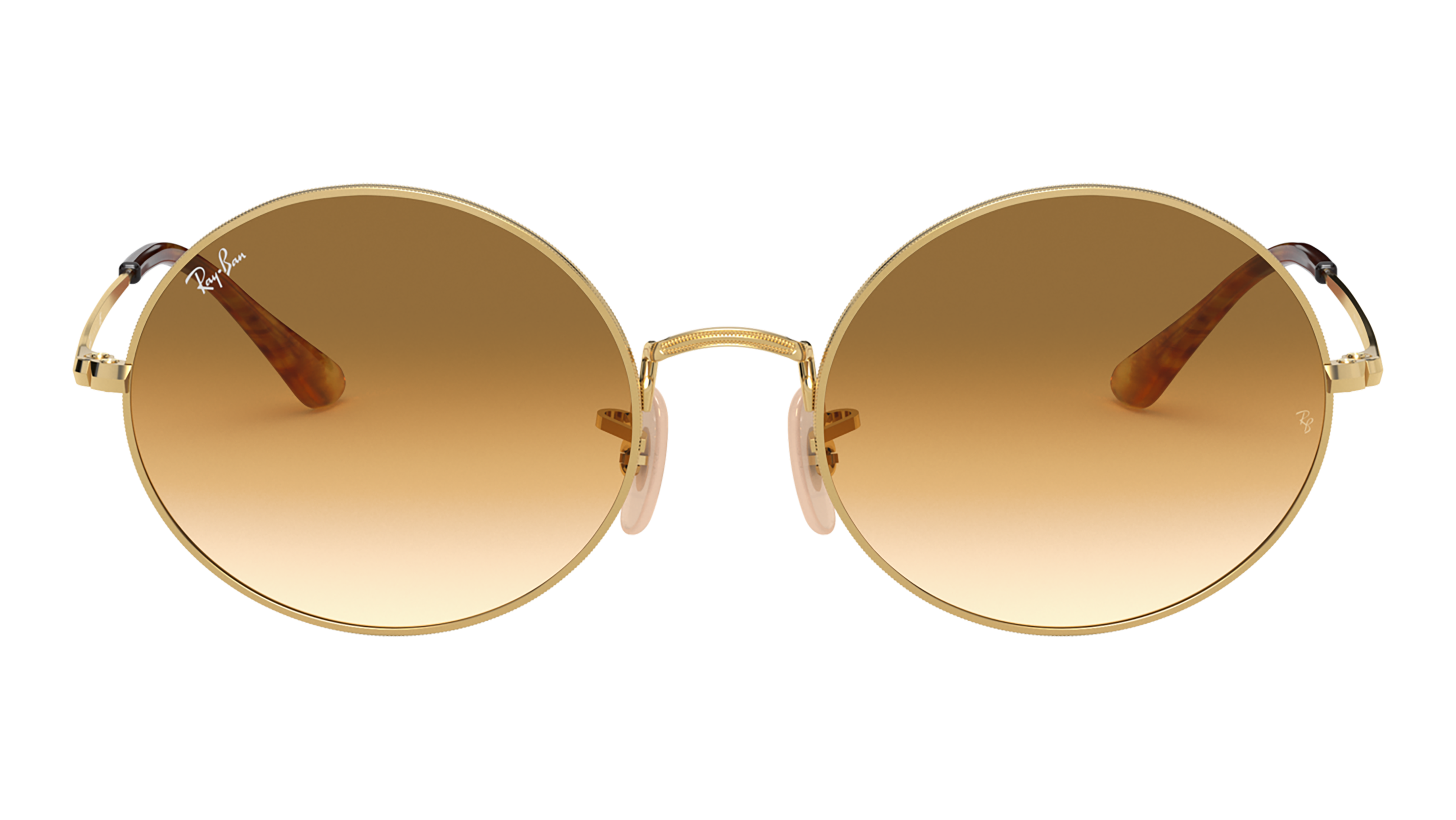 Front Ray-Ban Ray-Ban 0RB1970 914751 53/19 Goud/Bruin
