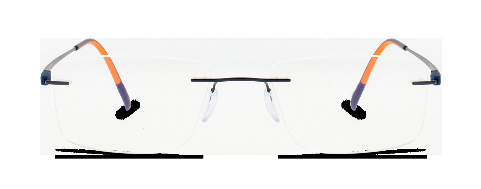Front Silhouette Silhouet 5502 4540 52/19 Blu,Arancione