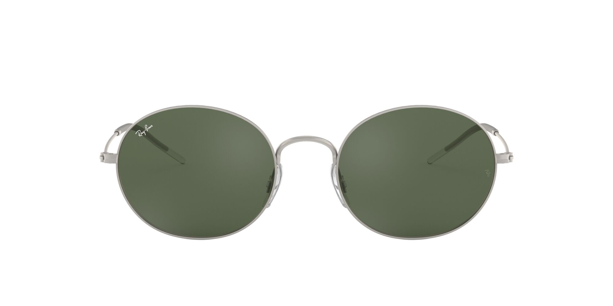 Front Ray-Ban Ray-Ban 0RB3594 911671 53/20 Zilver/Groen