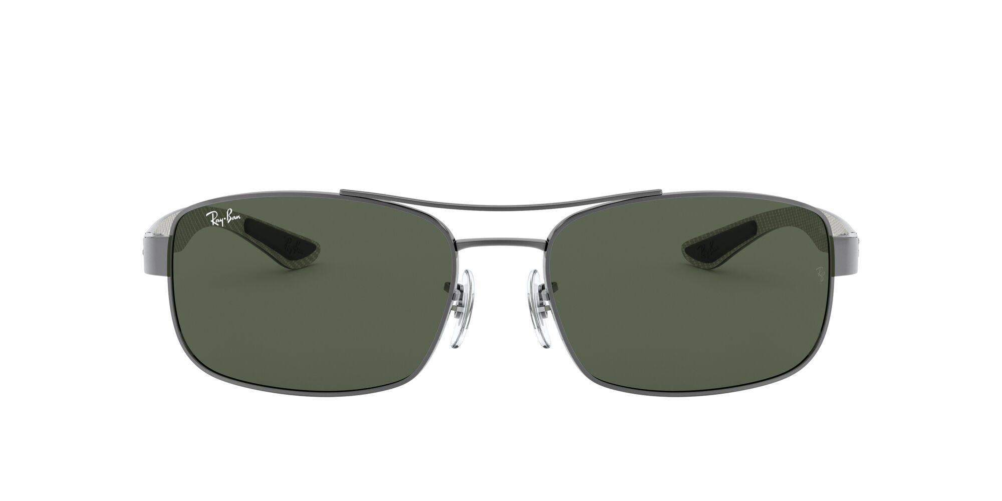 Front Ray-Ban Ray-Ban 0RB8316 004 62/18 Grijs/Groen