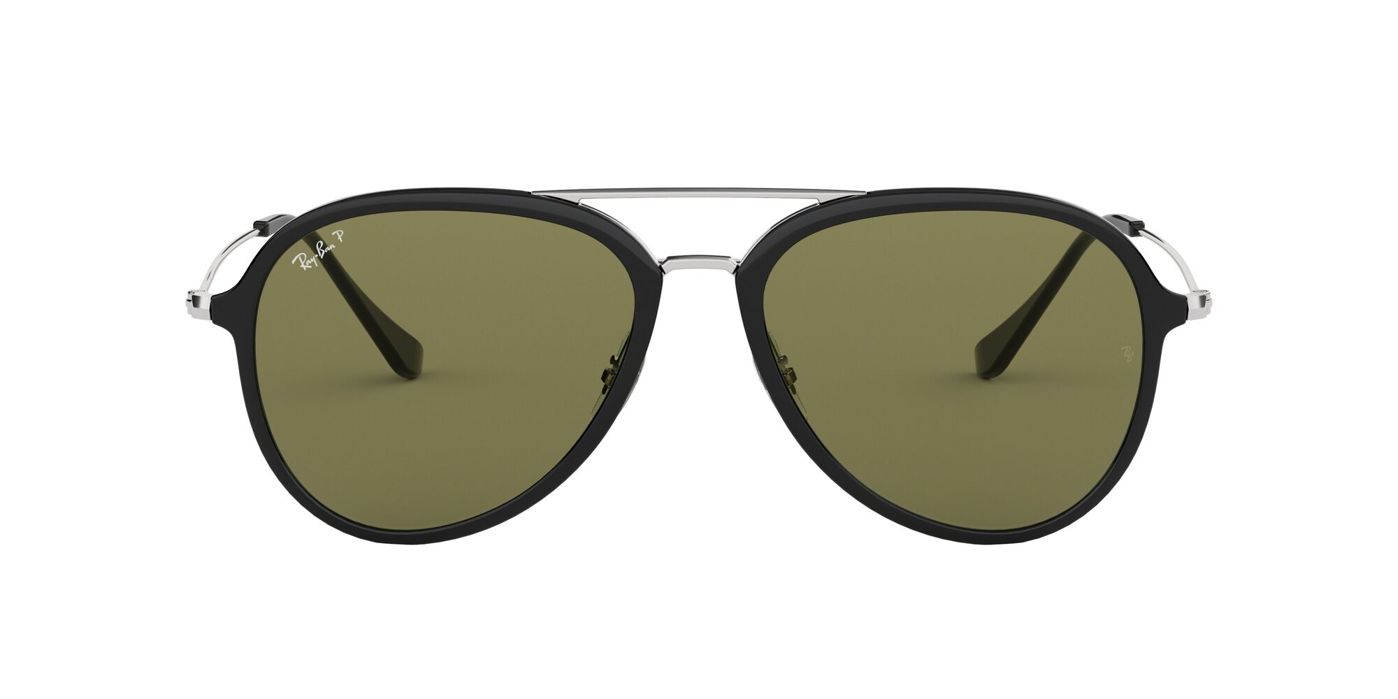 Front Ray-Ban Ray-Ban RB4298 601/9A 57/17 Zwart/Groen