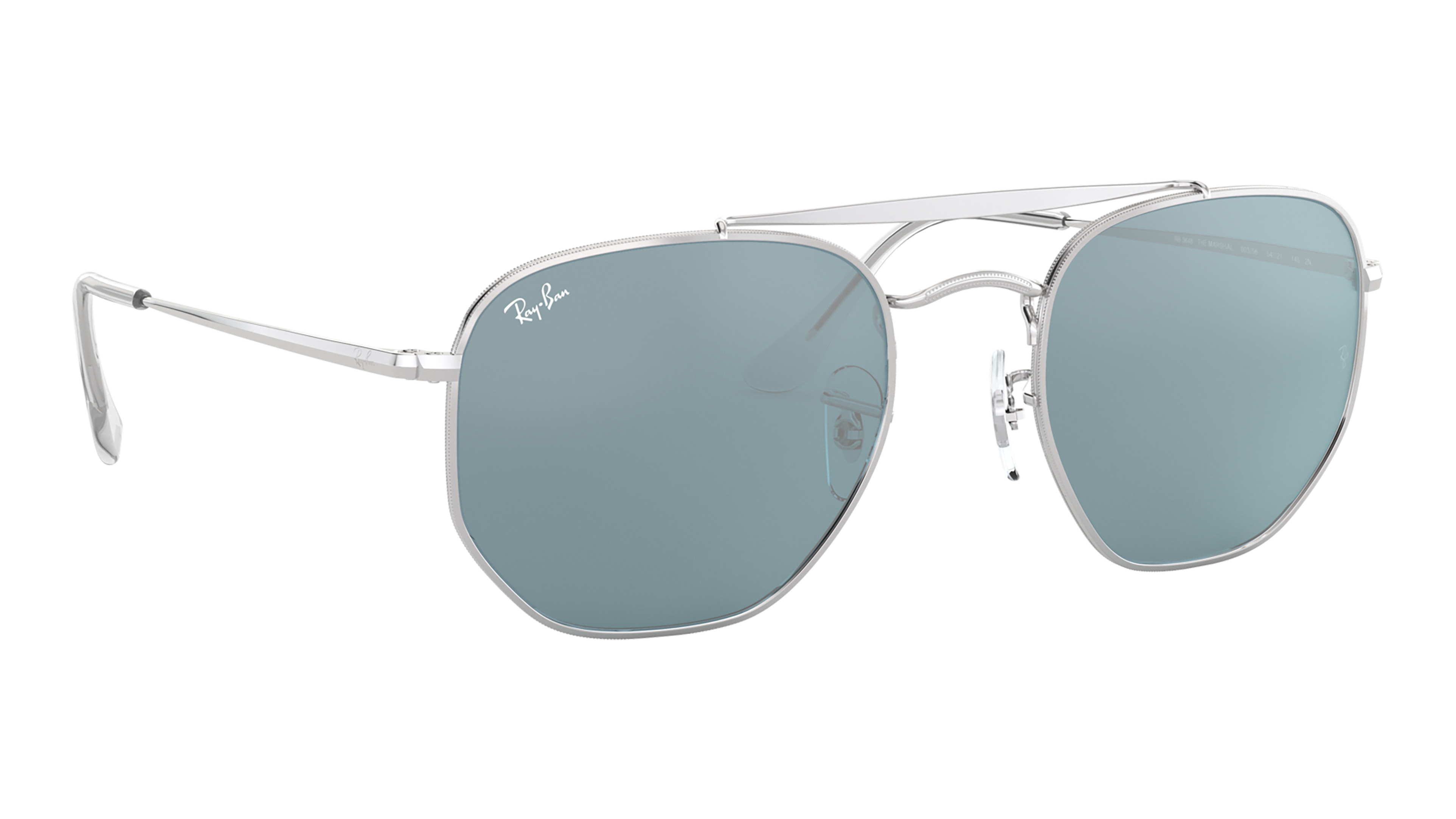 Angle_Right02 Ray-Ban Ray-Ban 0RB3648 003/56 54/21 Zilver/Blauw